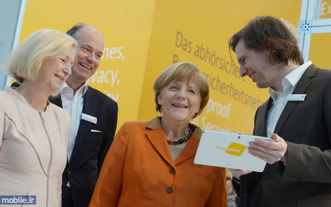 Angela Merkel and Secusmart