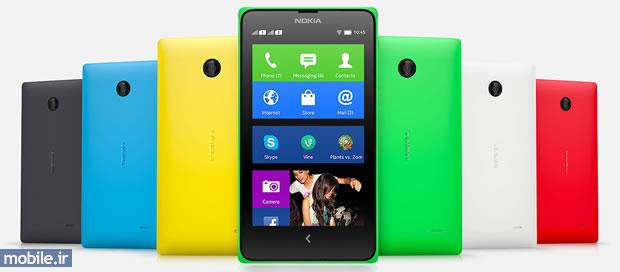 Nokia X Colors - رنگ های نوکیا ایکس