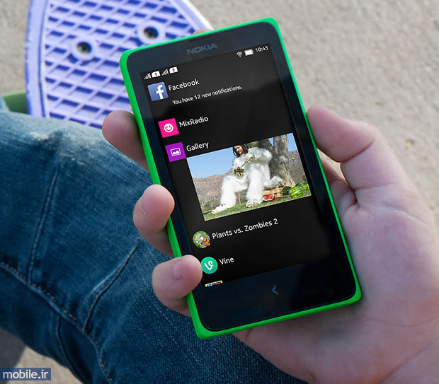 Nokia X Plus - نوکیا ایکس پلاس