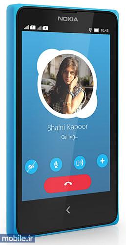 Skype on Nokia X+ - برنامه اسکایپ بر روی نوکیا ایکس پلاس