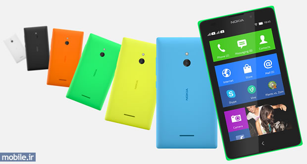 Nokia XL Colors - رنگ های نوکیا ایکس ال