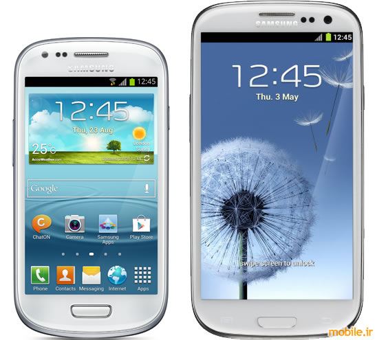 Samsung Galaxy S III mini vs. Samsung Galaxy S III