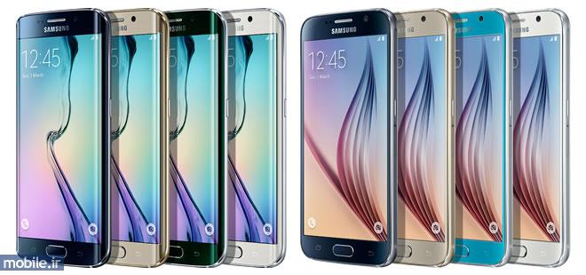 Samsung Galaxy S6 and Samsung Galaxy S6 edge - سامسونگ گلکسی اس 6 و سامسونگ گلکسی اس 6 اج
