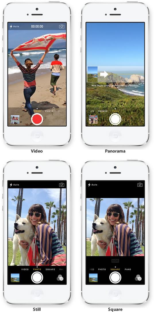 IOS 7 Camera App - برنامه دوربین در آی او اس 7