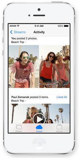 iOS 7 iCloud Sharing - به اشتراک گذاری در آی کلاود در آی او اس 7