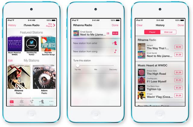 iOS 7 Radio iTunes - رادیو آی تیونز در آی او اس 7