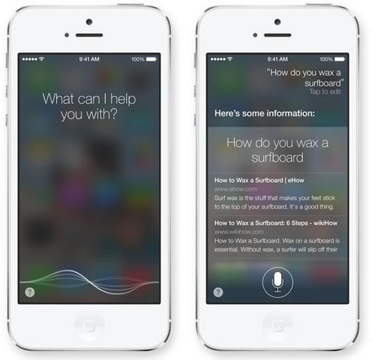 iOS 7 Siri - سیری در آی او اس 7