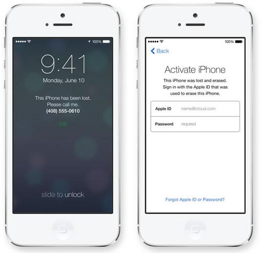 iOS 7 Find My iPhone -یافتن آیفون گمشده در آی او اس 7