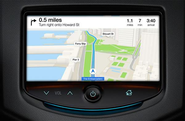 iOS in the Car - آی او اس در خودرو
