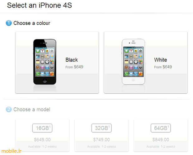 iPhone 4S Price in Canada