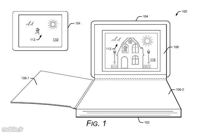 Google AR-based pop-up books patent