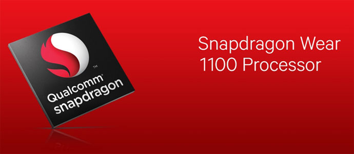 qualcomm snapdragon wear 1100 processor
