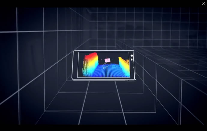 google project tango 3d mapping