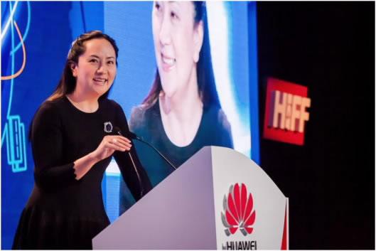 Sabrina Meng Huawei CFO
