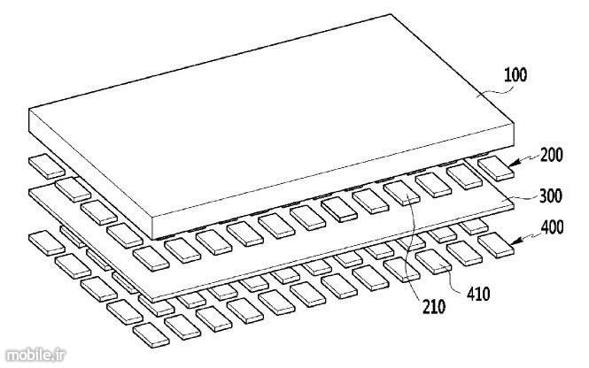 samsung flexible oled display patent