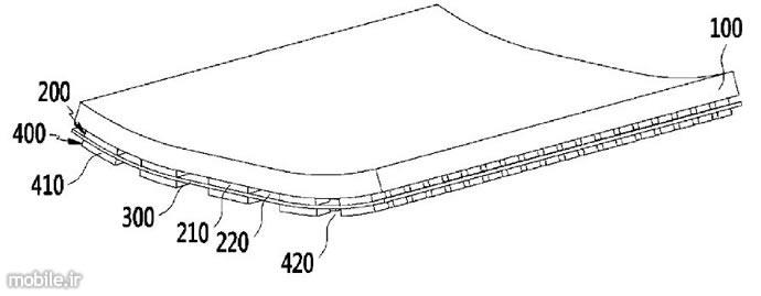 پتنت سامسونگ برای تولید گوشی هوشمند با صفحهنمایش انعطافپذیر
