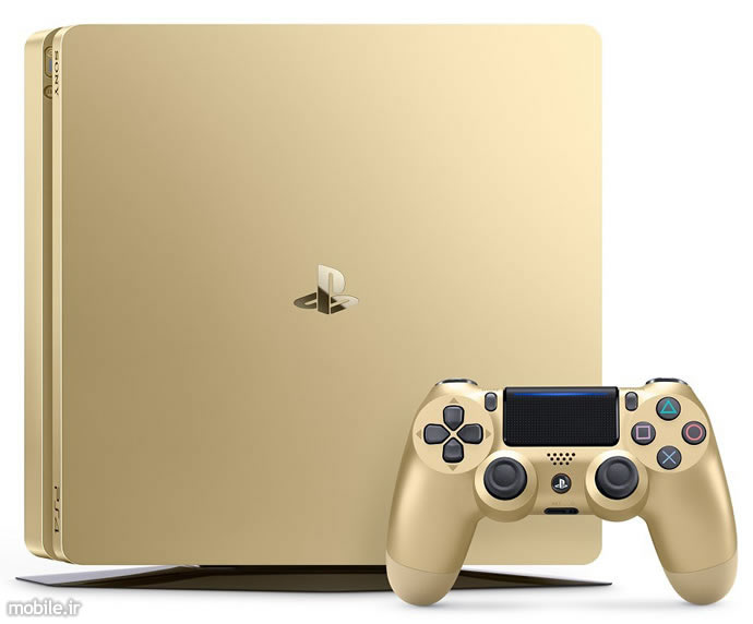 Sony PlayStation 4 Slim 1TB gold Console