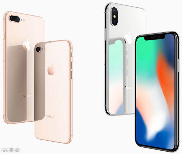 Apple iPhone 8 8 Plus and iPhone X