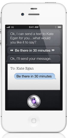 Apple Siri Messages