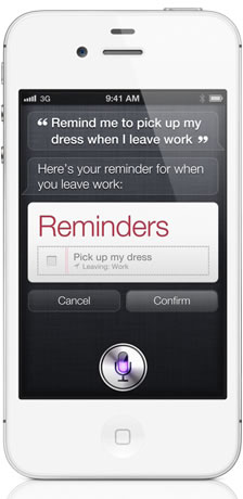 Apple Siri Reminders