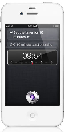 Apple Siri Timer