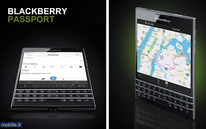 BlackBerry Passport - بلک بری پاسپورت