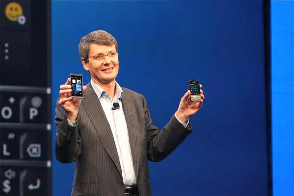 BlackBerry Z10 and BlackBerry Q10