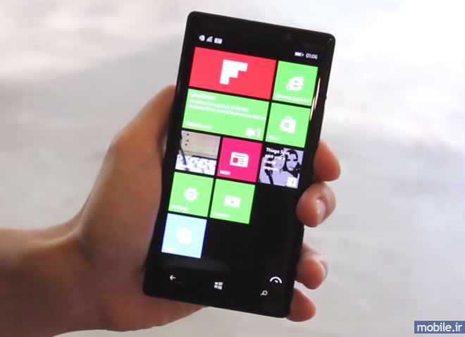 Flipboard for Windows Phone on Nokia Lumia 830