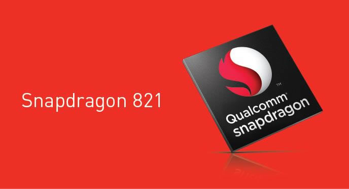 qualcomm announced snapdragon-821 SoC
