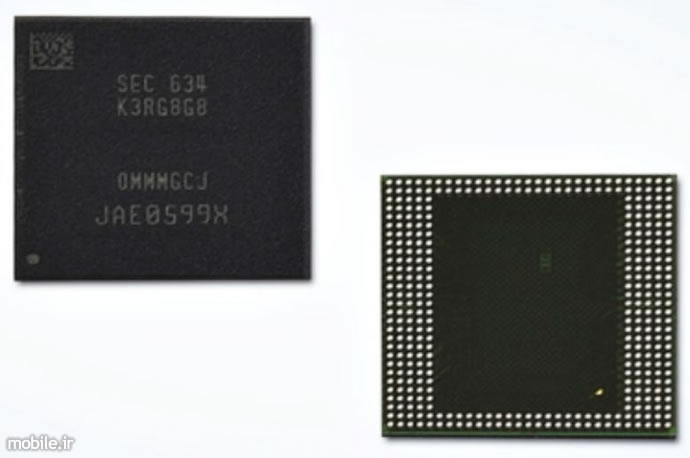 samsung introduces first 8gb lpddr4 mobile dram package