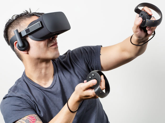 introducing virtual reality headsets