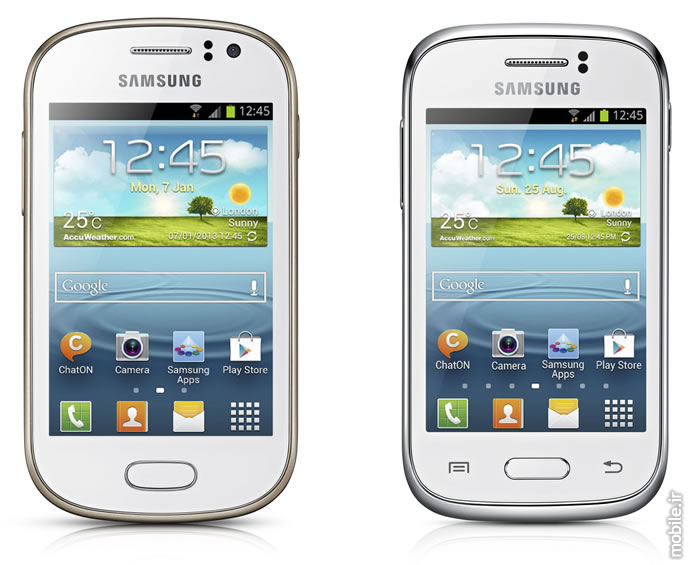 Samsung Galaxy Fame and Samsung Galaxy Young