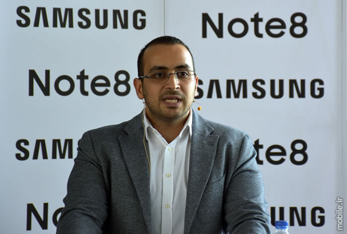 Samsung Galaxy Note8 Launch Ceremony in Iran