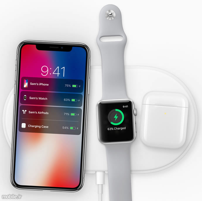 Apple iPhone X and Apple Watch Series 3