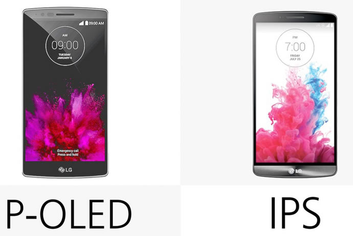 P-OLED vs IPS LCD Display Technology Overview