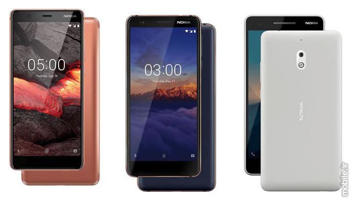 Introducing Nokia 5.1 Nokia 3.1 Nokia 2.1