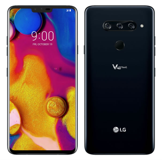 Introducing LG V40 ThinQ