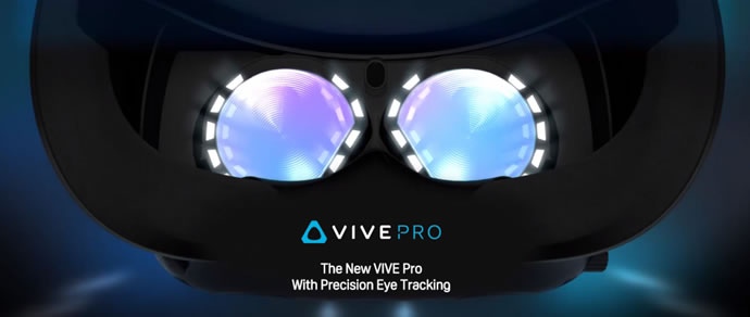 Introducing HTC Vive Pro Eye and Vive Cosmos VR Headsets
