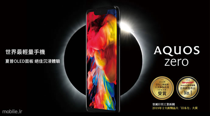 Introducing Sharp AQUOS Zero