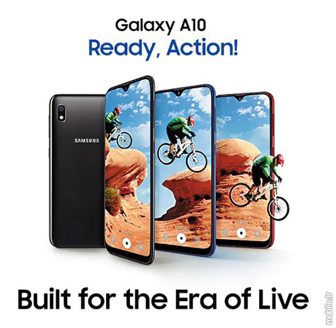 Introducing Samsung Galaxy A10